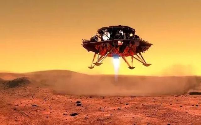 祝贺!中国天问一号探测器成功着陆火星